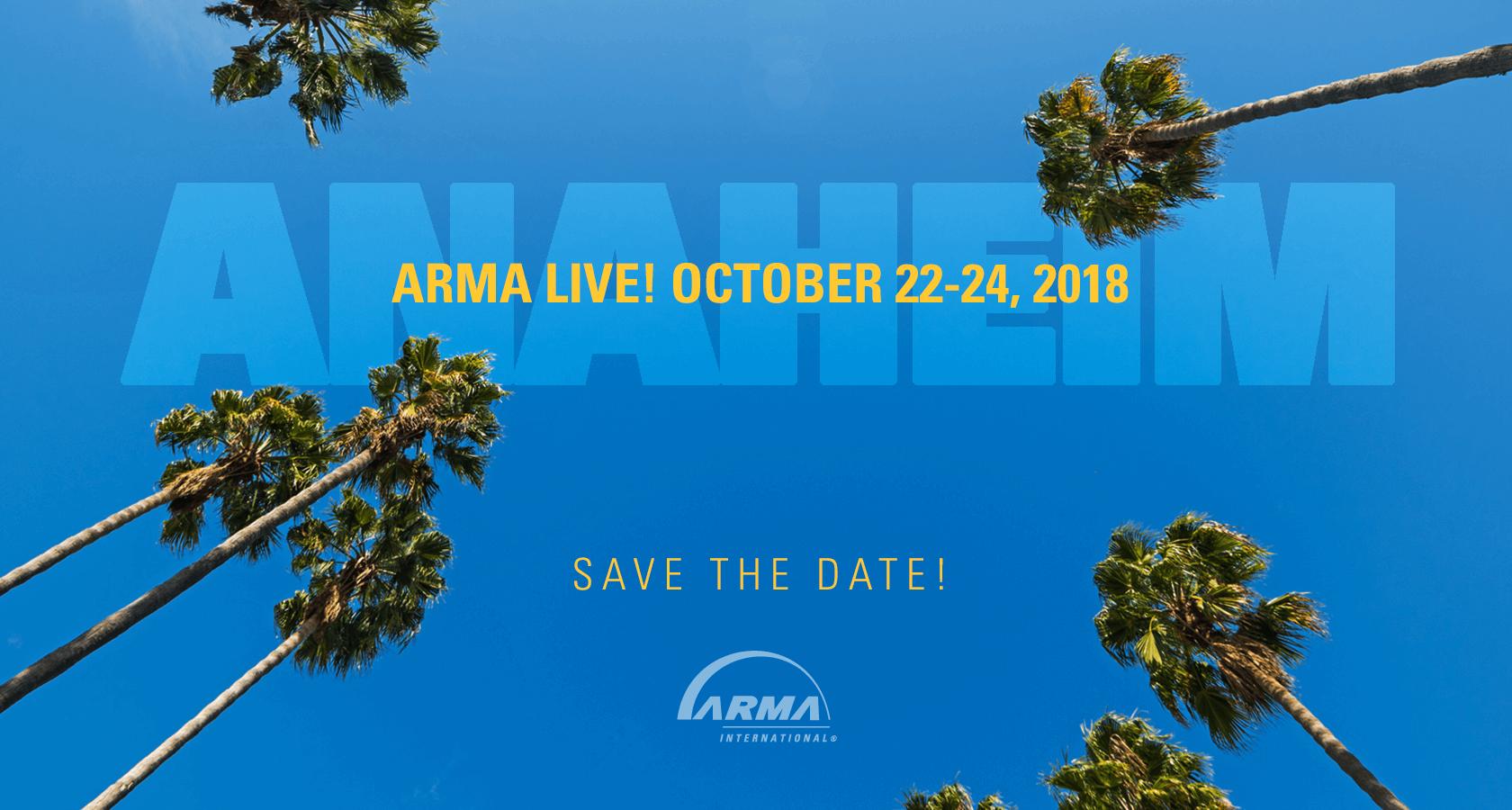 ARMA Live! Anaheim